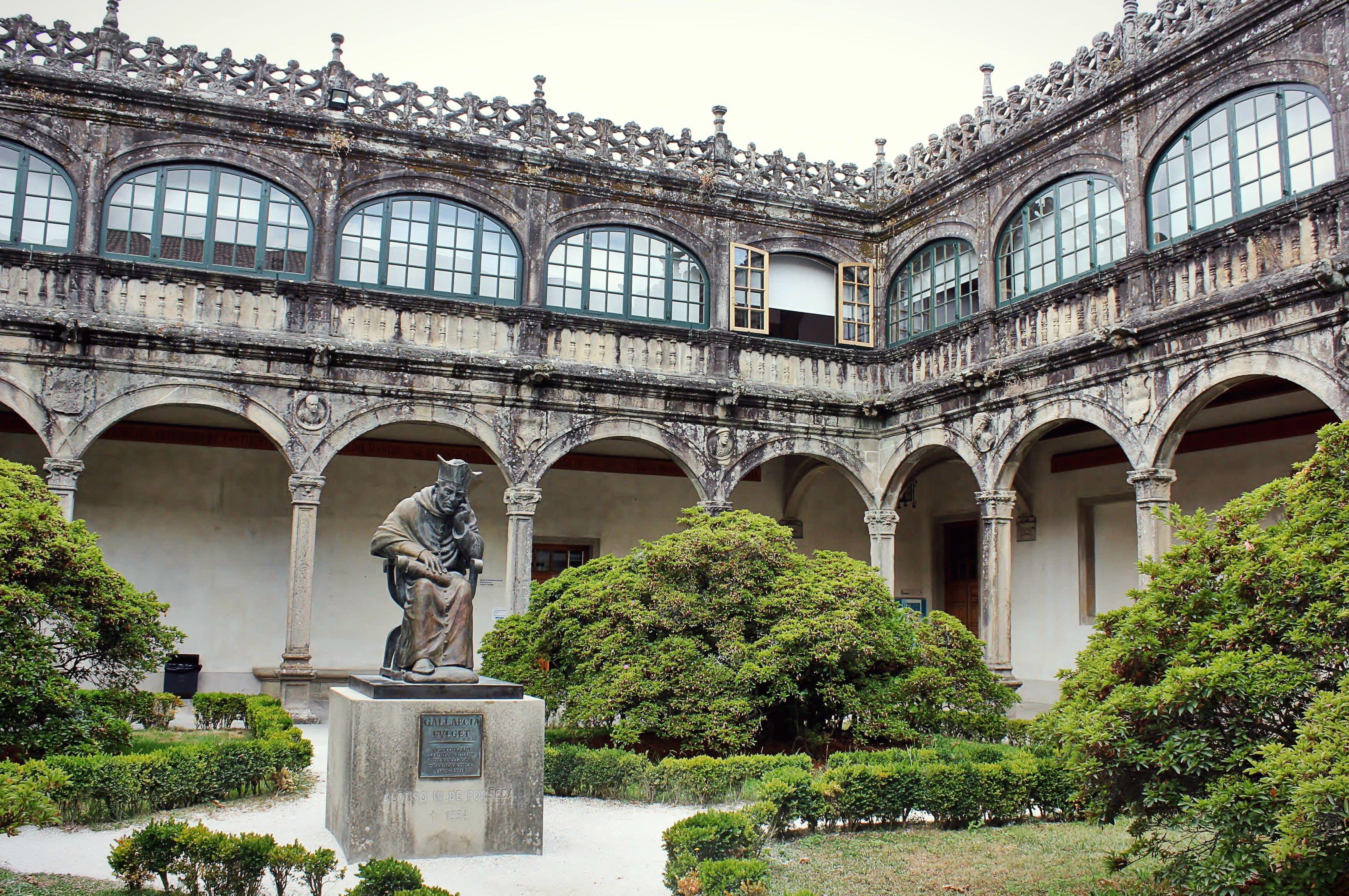 Afbeeldingsresultaat voor University of Santiago de Compostela