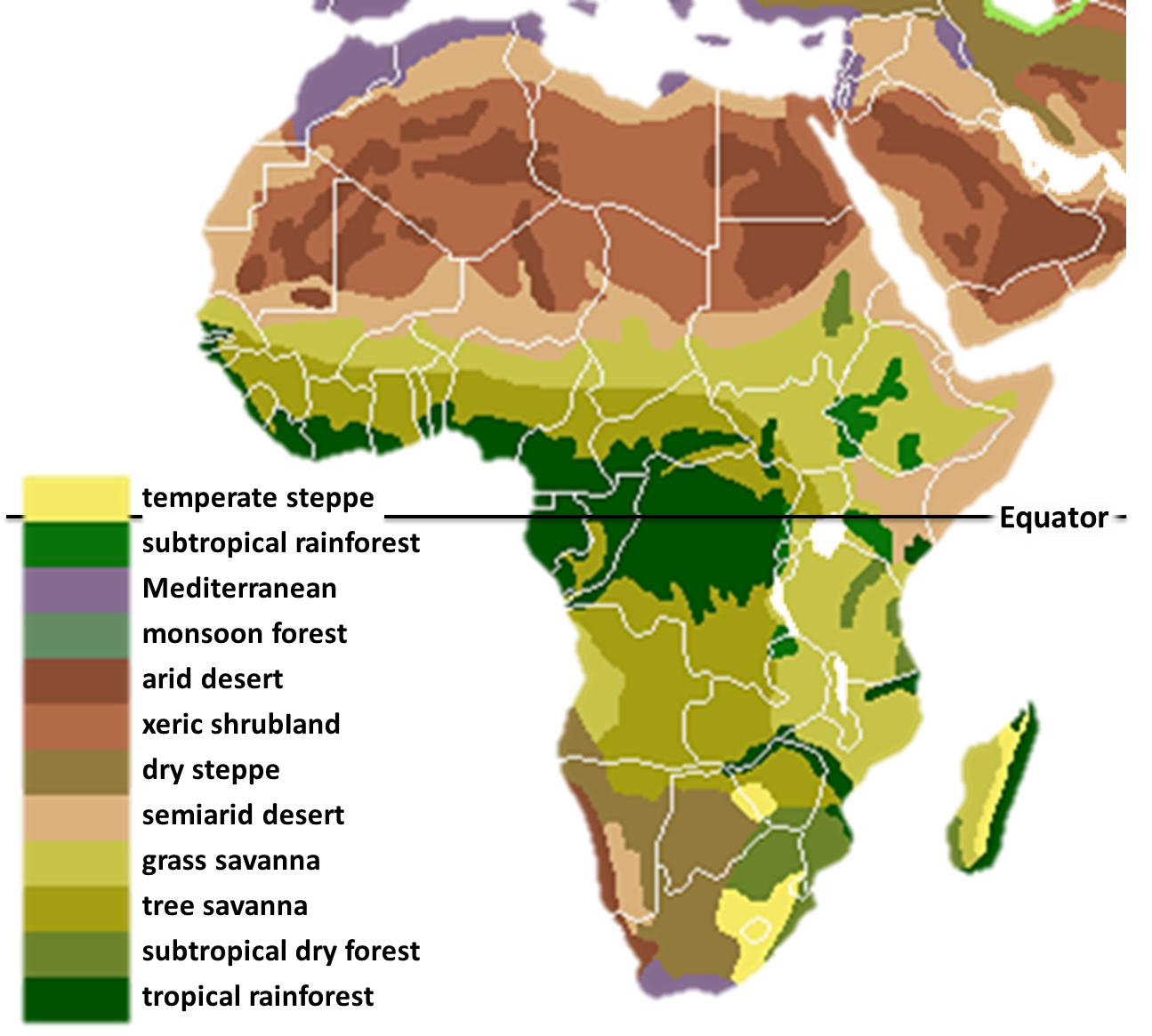 Map Of Africa Vegetation.Vaizdas Vegetation Africa Png Vikipedija