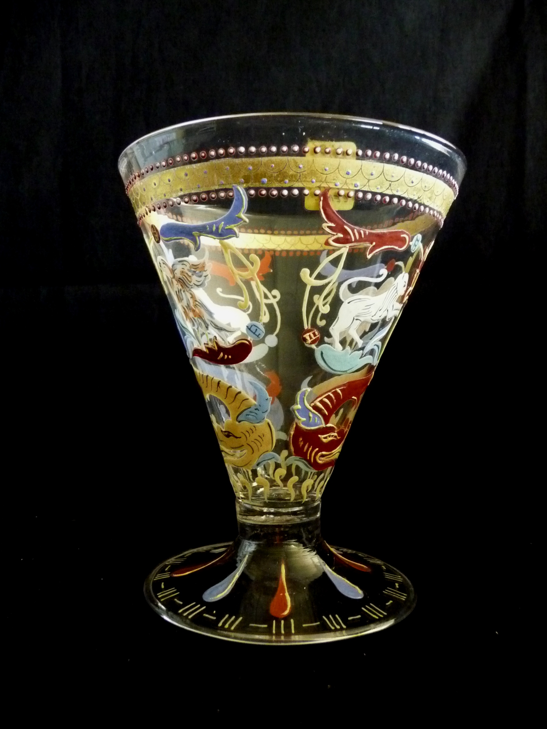Blue Murano Glass Pandora