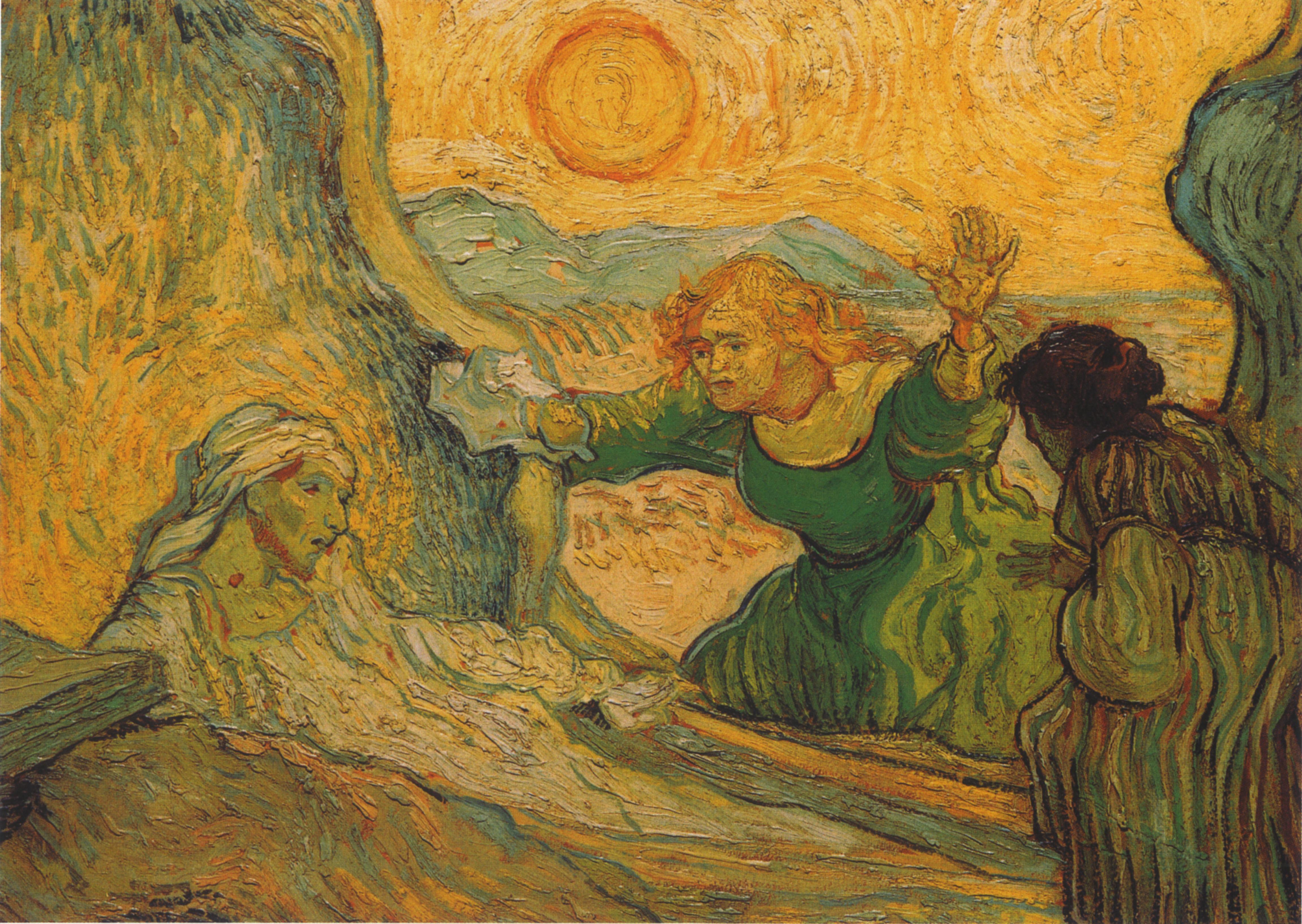 Briefe Von Van Gogh : Datei vincent van gogh la résurrection de lazare d après
