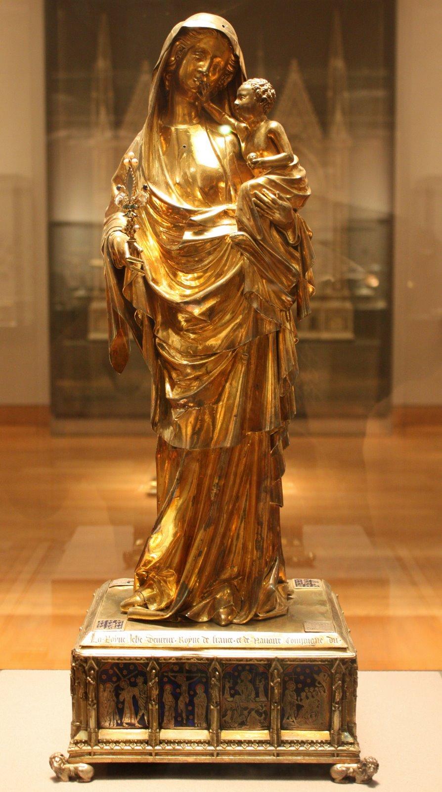 Virgin Of Jeanne Devreux Virgin of Jeanne d'Evr...