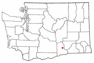 Location of West Richland, Washington