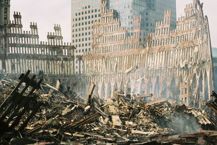 9/11 Twin Towers Destruction