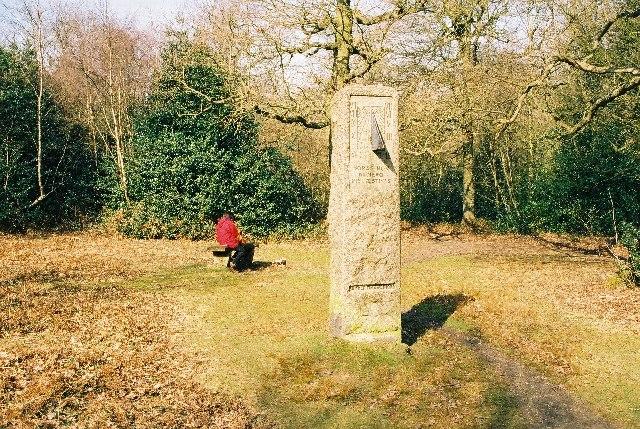 William Willett memorial, Petts Wood, Chislehurst, Kent - geograph.org.uk - 54683