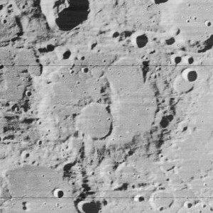 Xenophanes (crater) Lunar impact crater