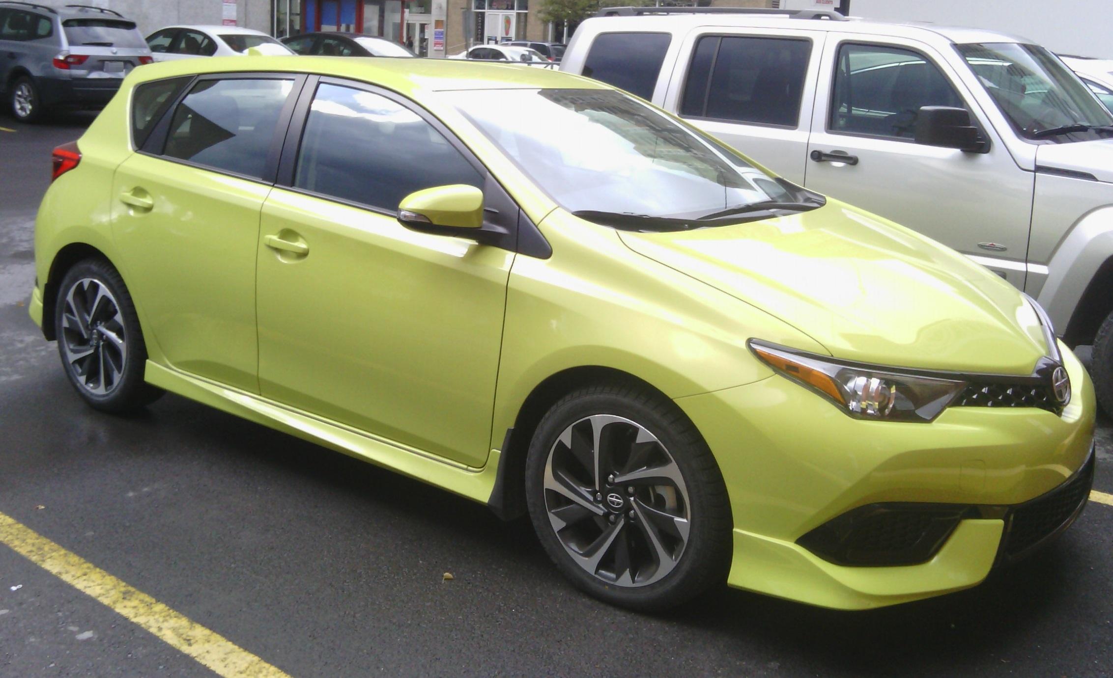 File16 Scion Im Wikipedia Pimped Toyota Corolla Runx