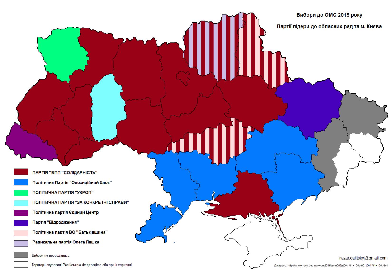 ukrainian local elections  2015