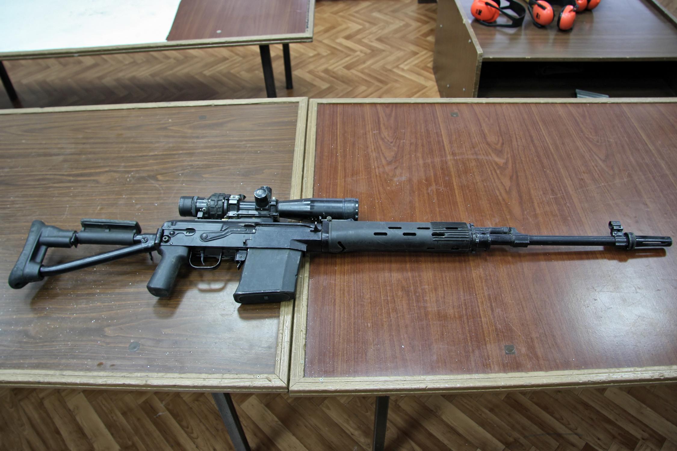 Снайперской винтовки и как ее сделать 725