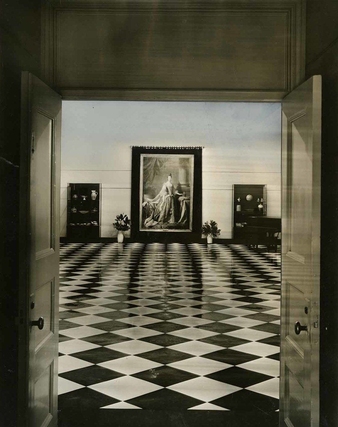 File 1936 Mint Museum Of Art Dwelle Gallery Inaugural Opening Charlotte Nc Jpg Wikimedia Commons