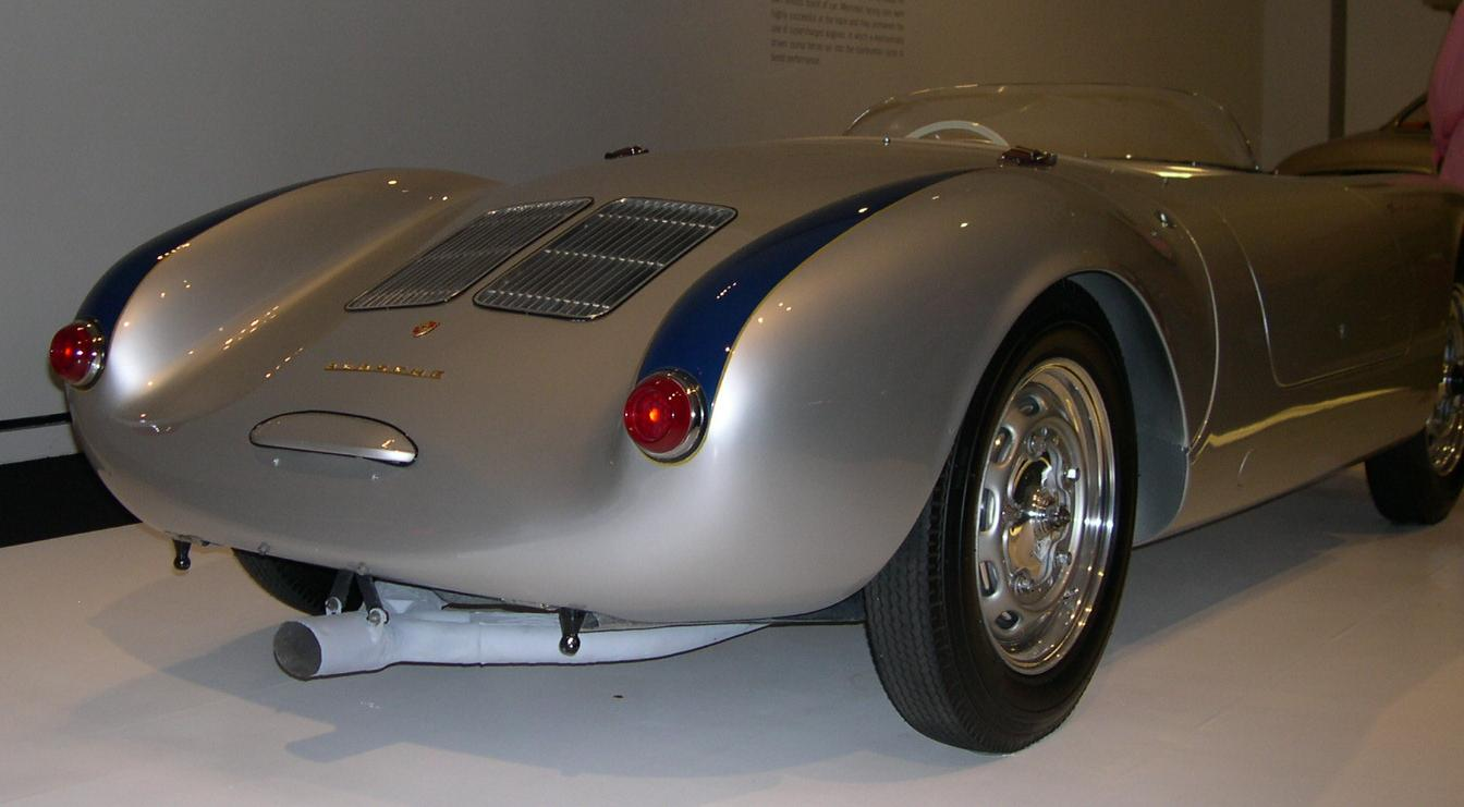 File 1955 Porsche 550 Spyder Rear Jpg Wikimedia Commons