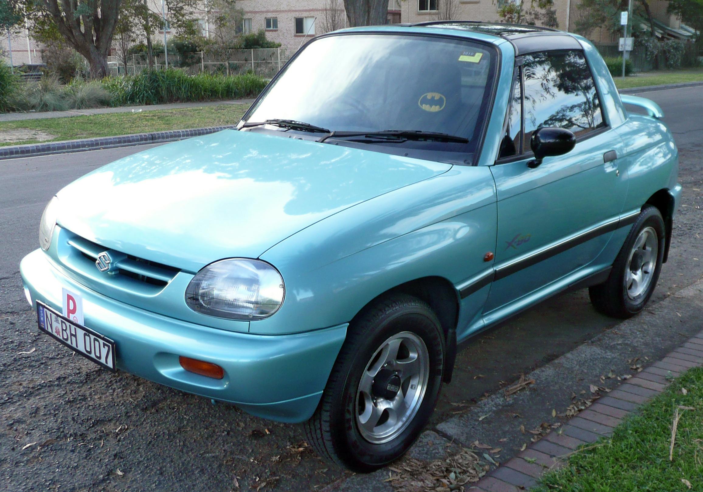 Suzuki Sidekick Seats