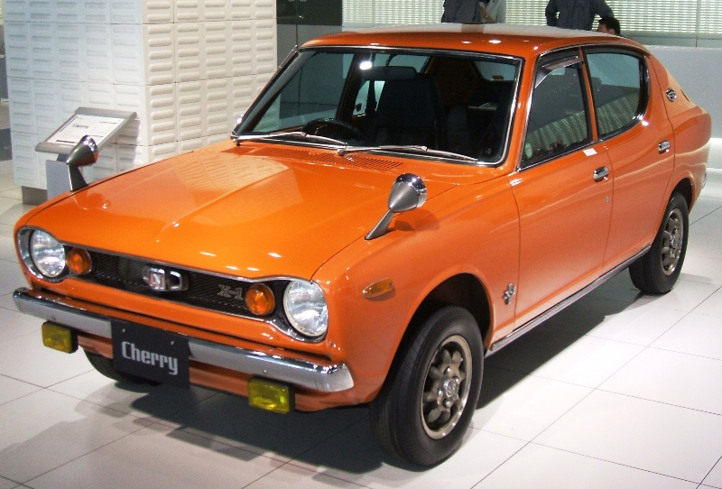 Nissan March Tuning >> Nissan Cherry - Wikipedia