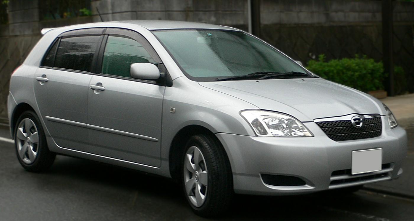 Тойота королла 2002 фото