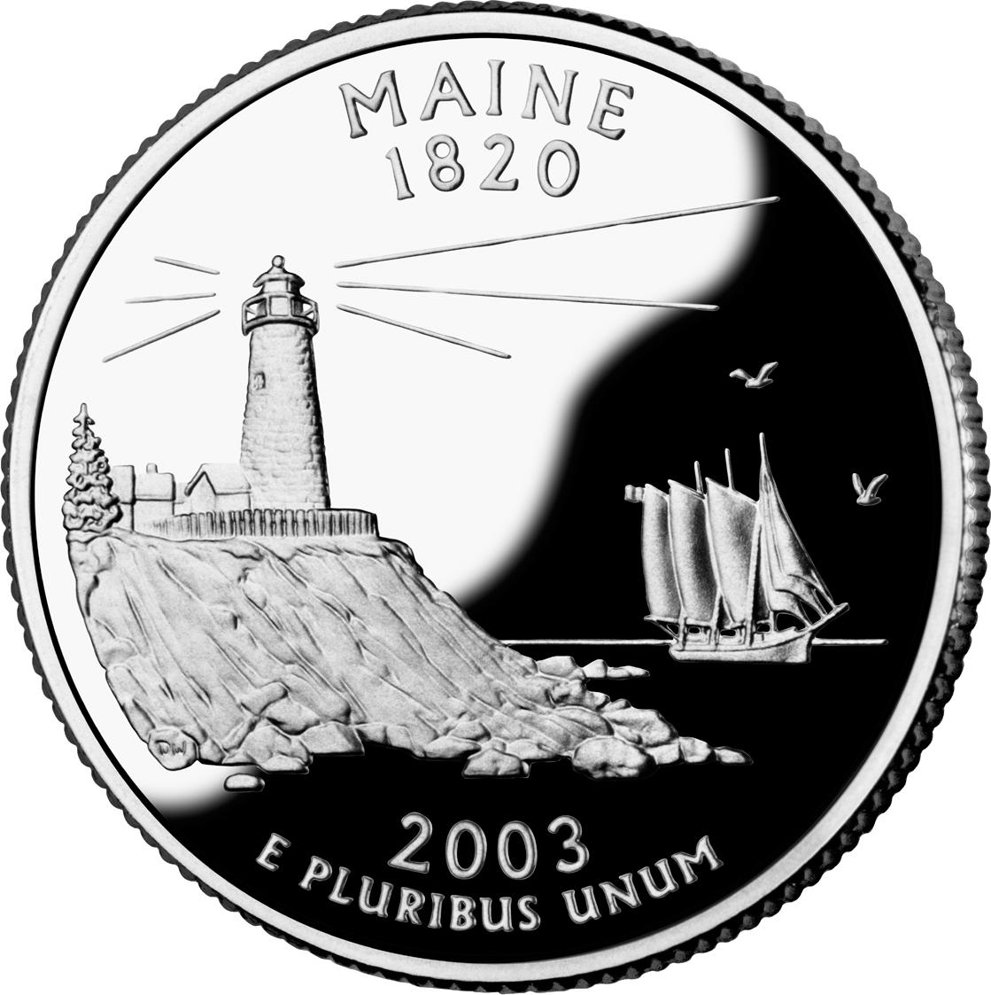 Maine quarter
