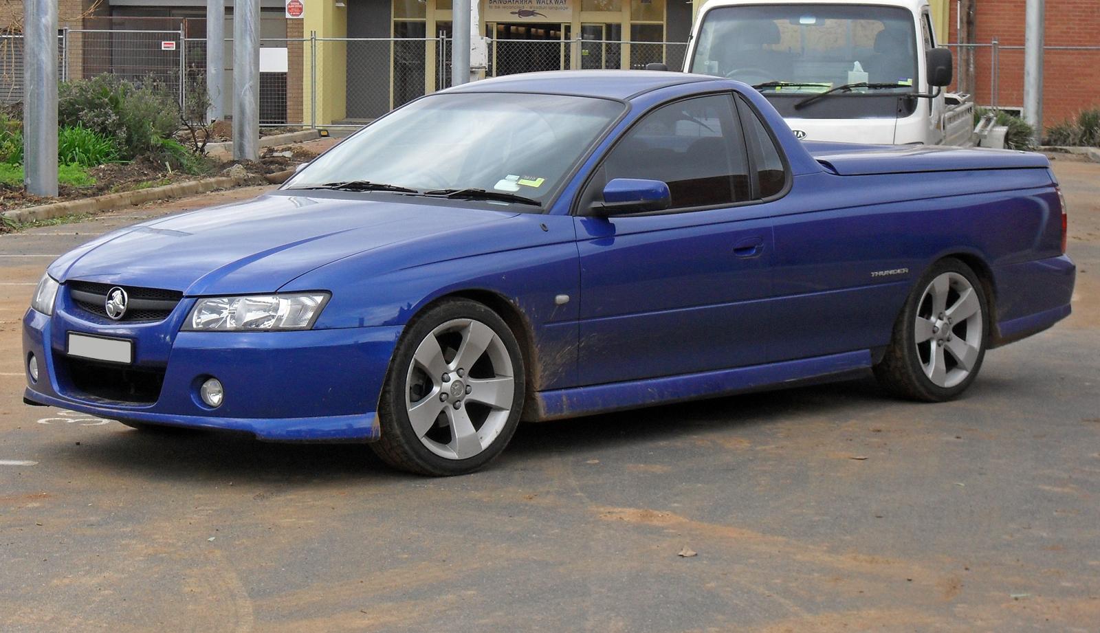Ute vehicle wikiwand for Holden motor cars australia