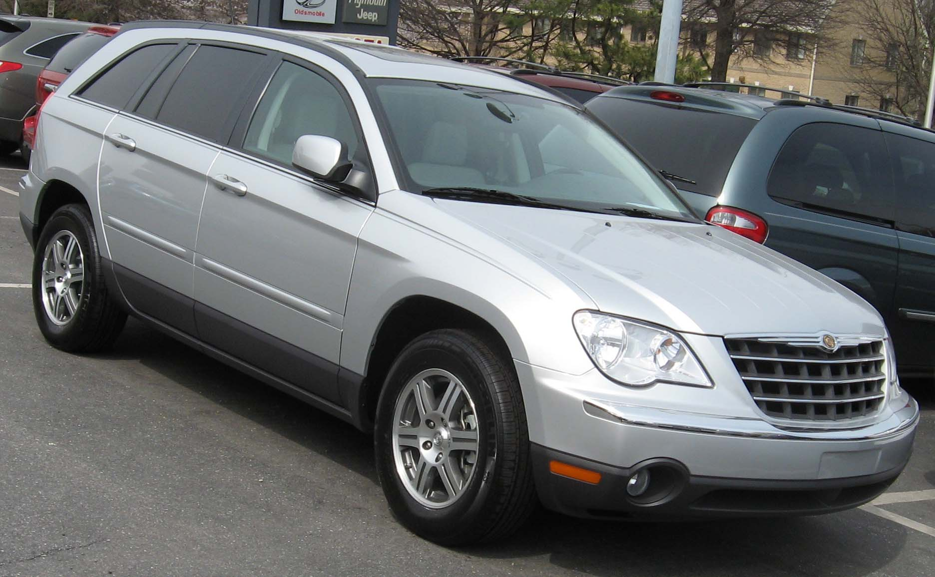 File 2007 Chrysler Pacifica on 2004 chrysler sebring touring