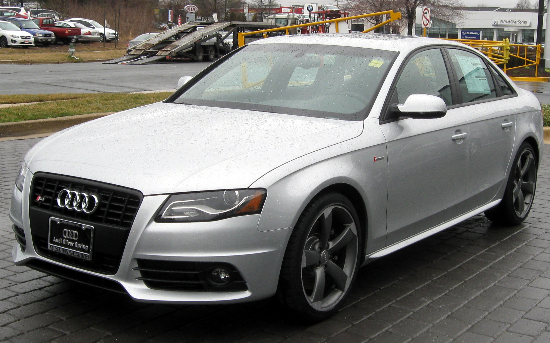 File 2012 Audi S4 02 29 2012 Jpg Wikimedia Commons
