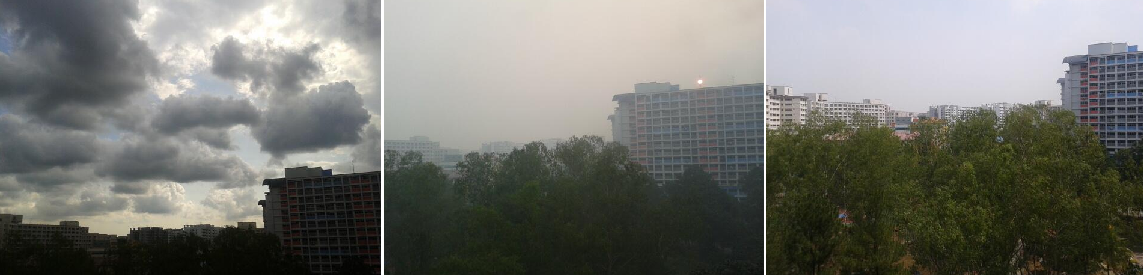 Singapore before, during and after 2013 haze
