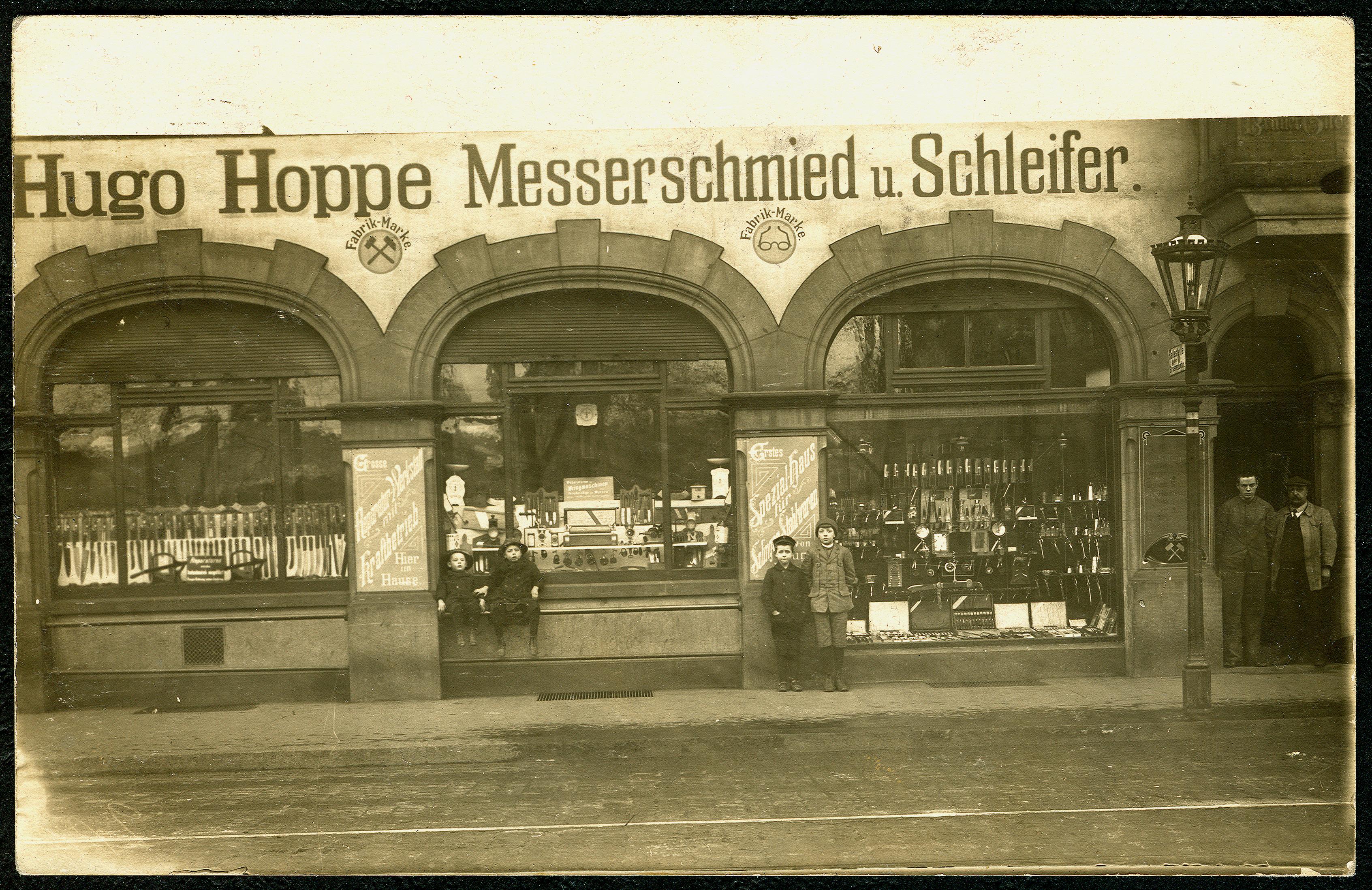 FileAK Hugo Hoppe Hannover Messerschmied Schleifer