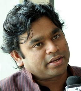 Photograph of A R Rahman