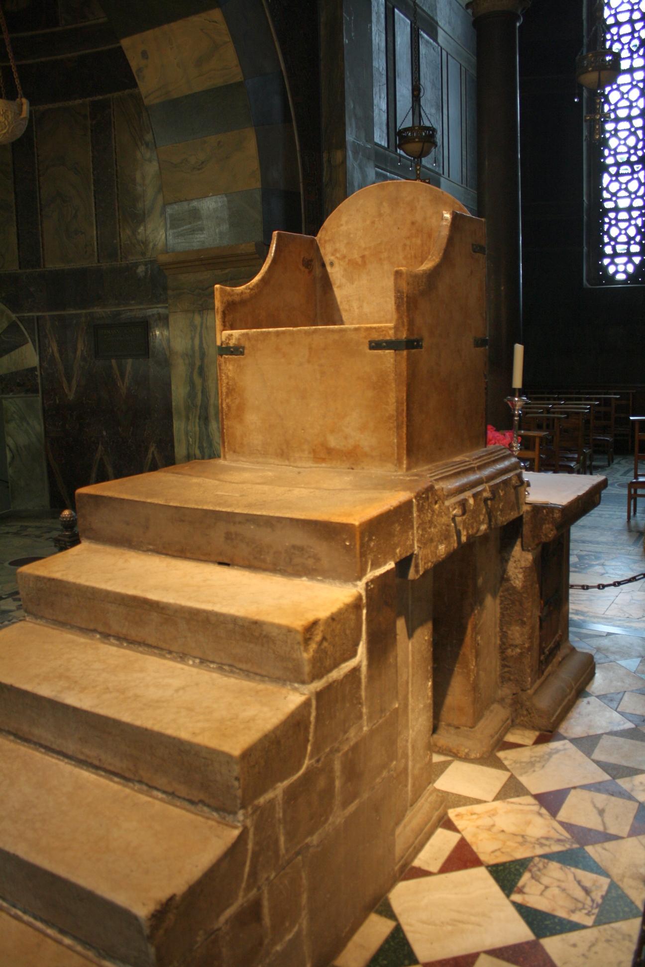 Charlemagnes Throne Joyeuse -Charlemagne s...