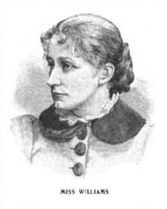 Morgan dollar, USA, 1882 Anna_Willess_Williams_1892