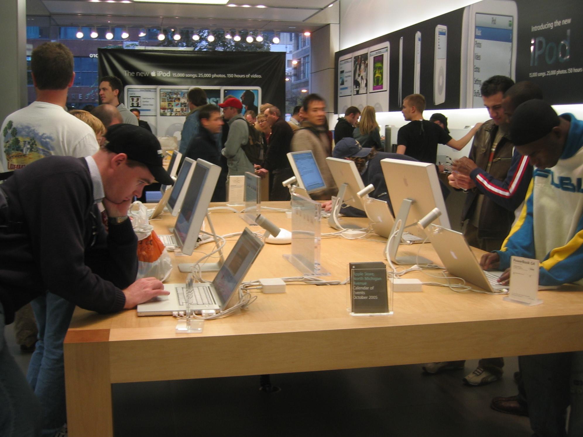 Mac Store Fashion Valley San Diego Ca
