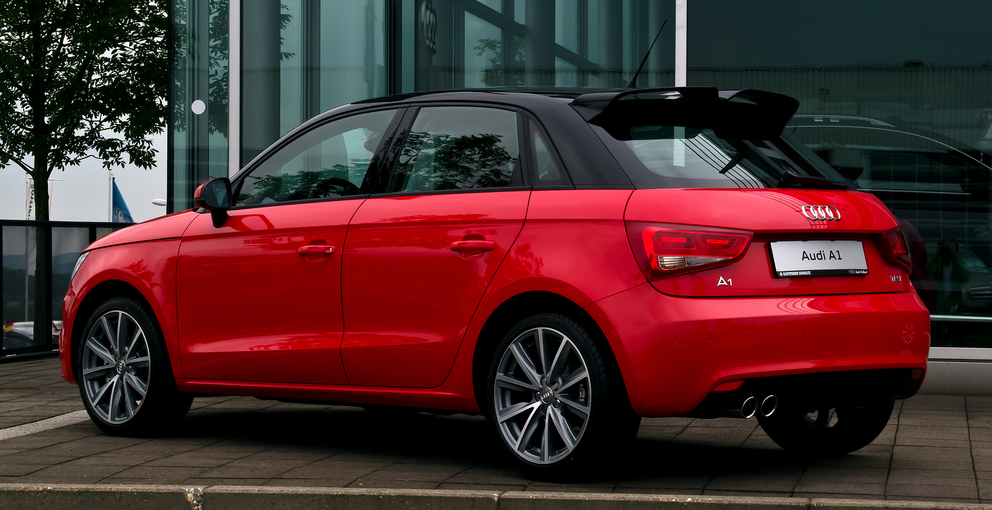 file audi a1 sportback 1 4 tfsi ambition heckansicht 13 juni 2012 wikimedia. Black Bedroom Furniture Sets. Home Design Ideas