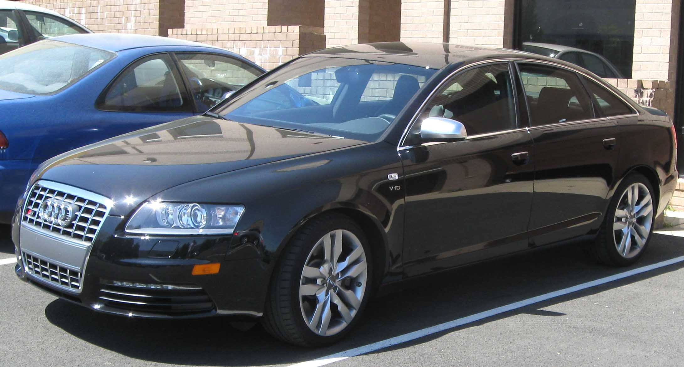 File Audi S6 C6 Sedan Jpg Wikimedia Commons