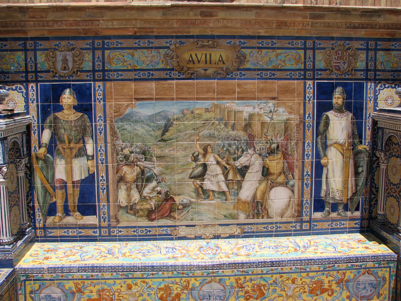 file azulejo avila plaza de espa wikimedia commons
