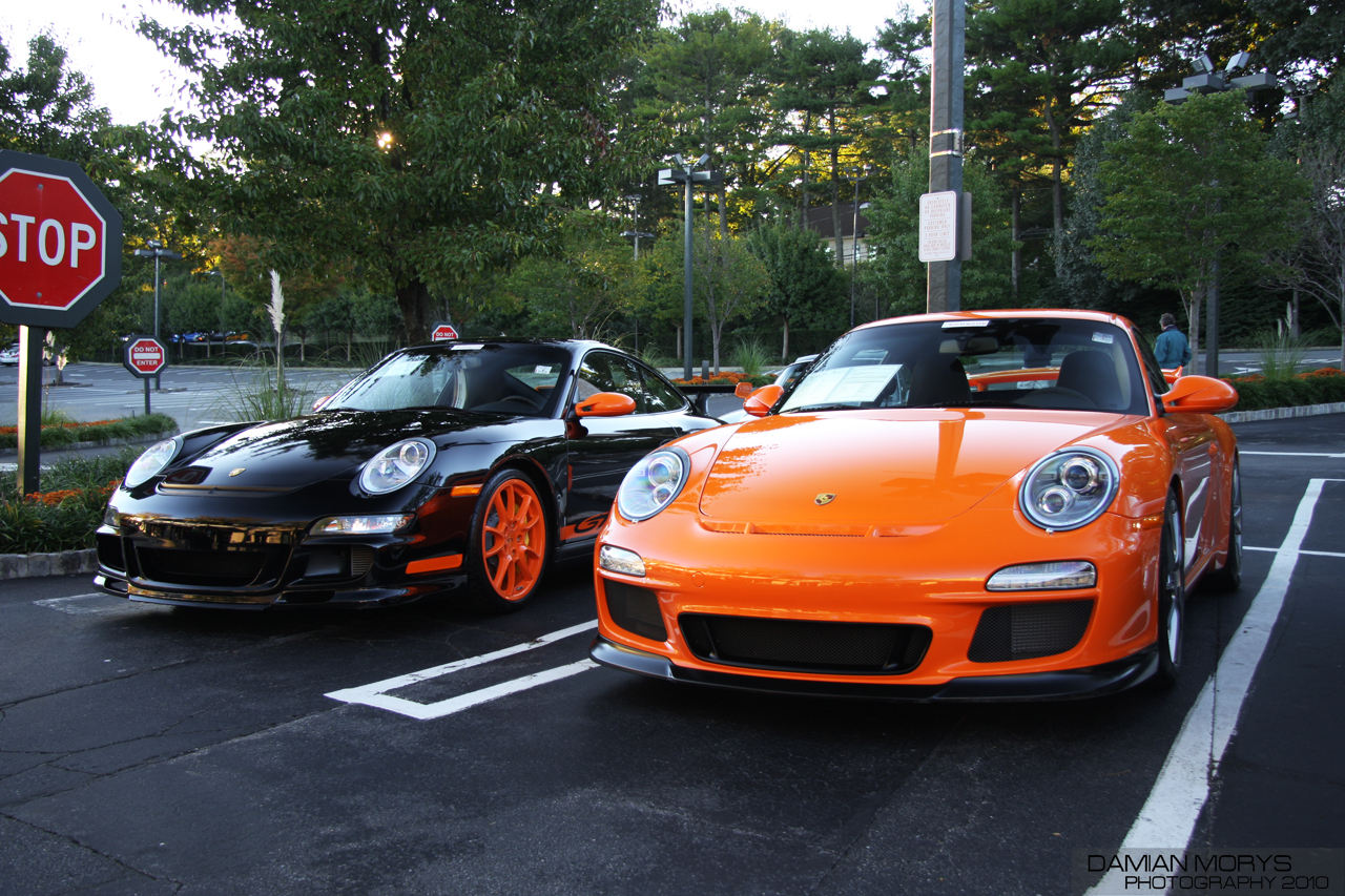 File Black And Orange Porsche 997 Gt3 Rs Jpg Wikimedia