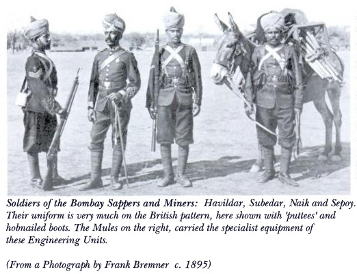 Bombay Sappers Uniform