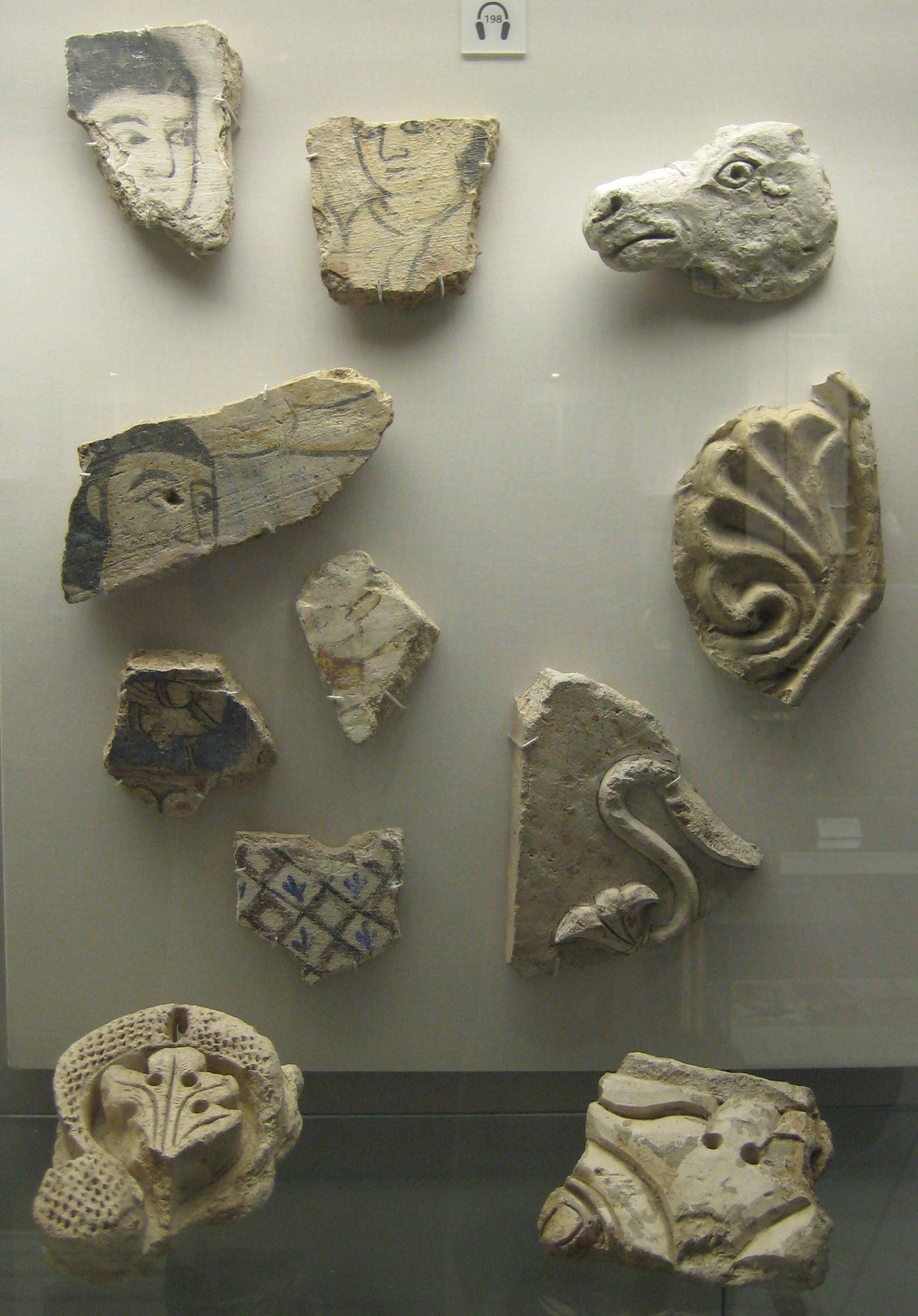 Harem Wall Painting Fragments