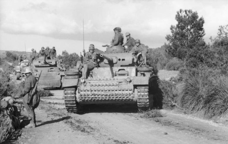 PzKpfw III Ausf. J in Tunisia