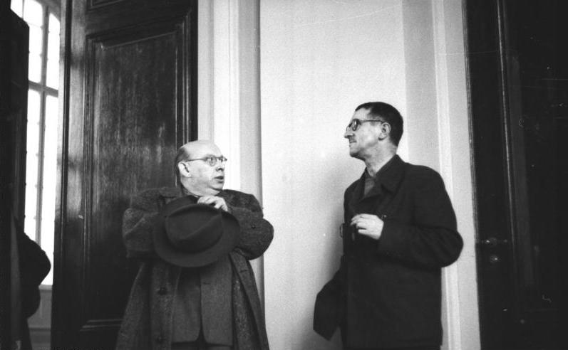 Eisler y Brecht