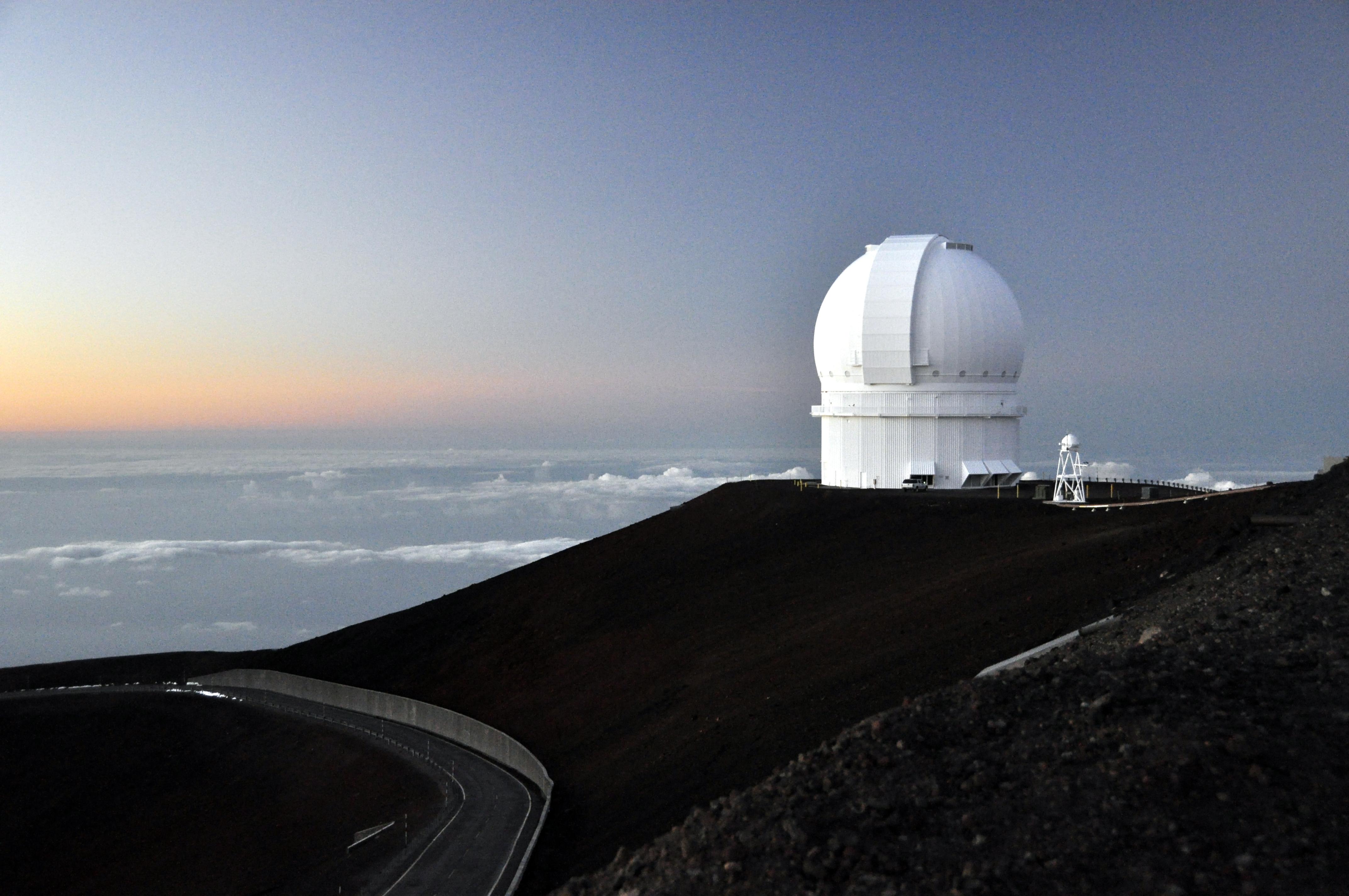 telescope on mauna kea