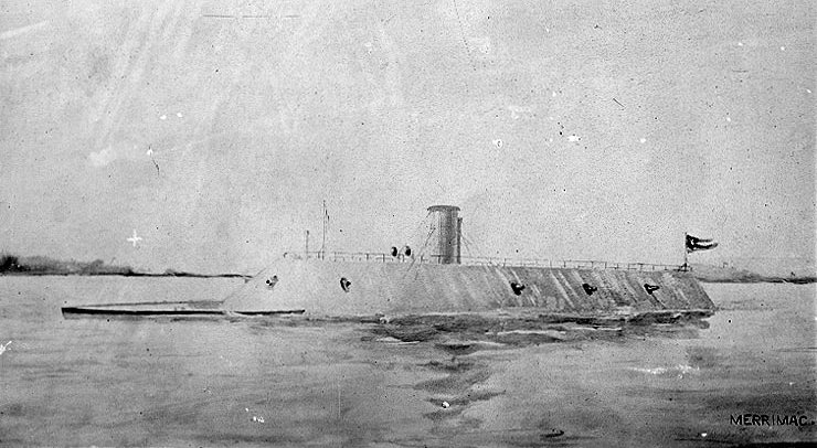 The CSS Virginia or Merrimac