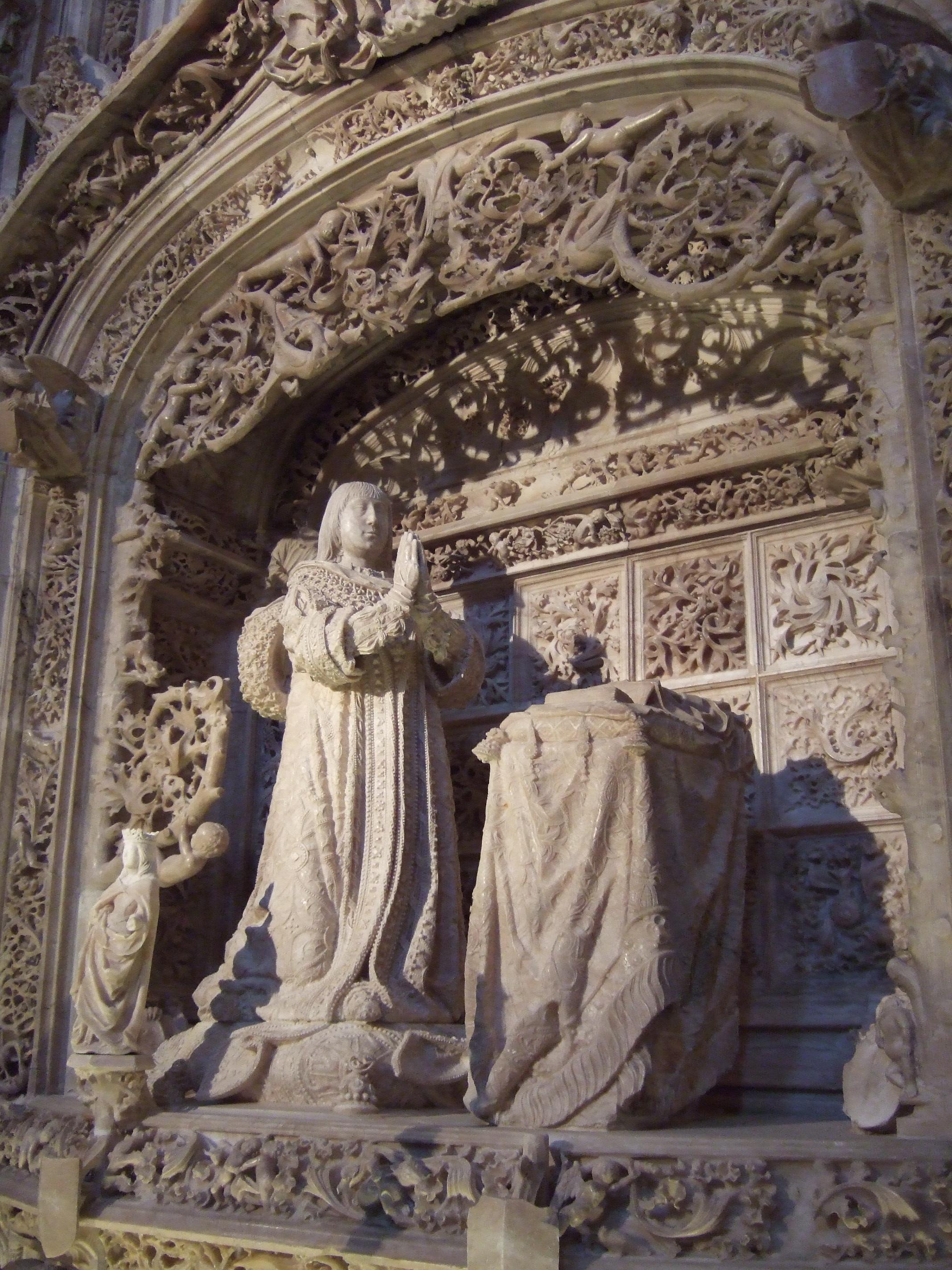 File:Cartuja de Miraflores (Burgos) - Tumba de Alfonso de ...