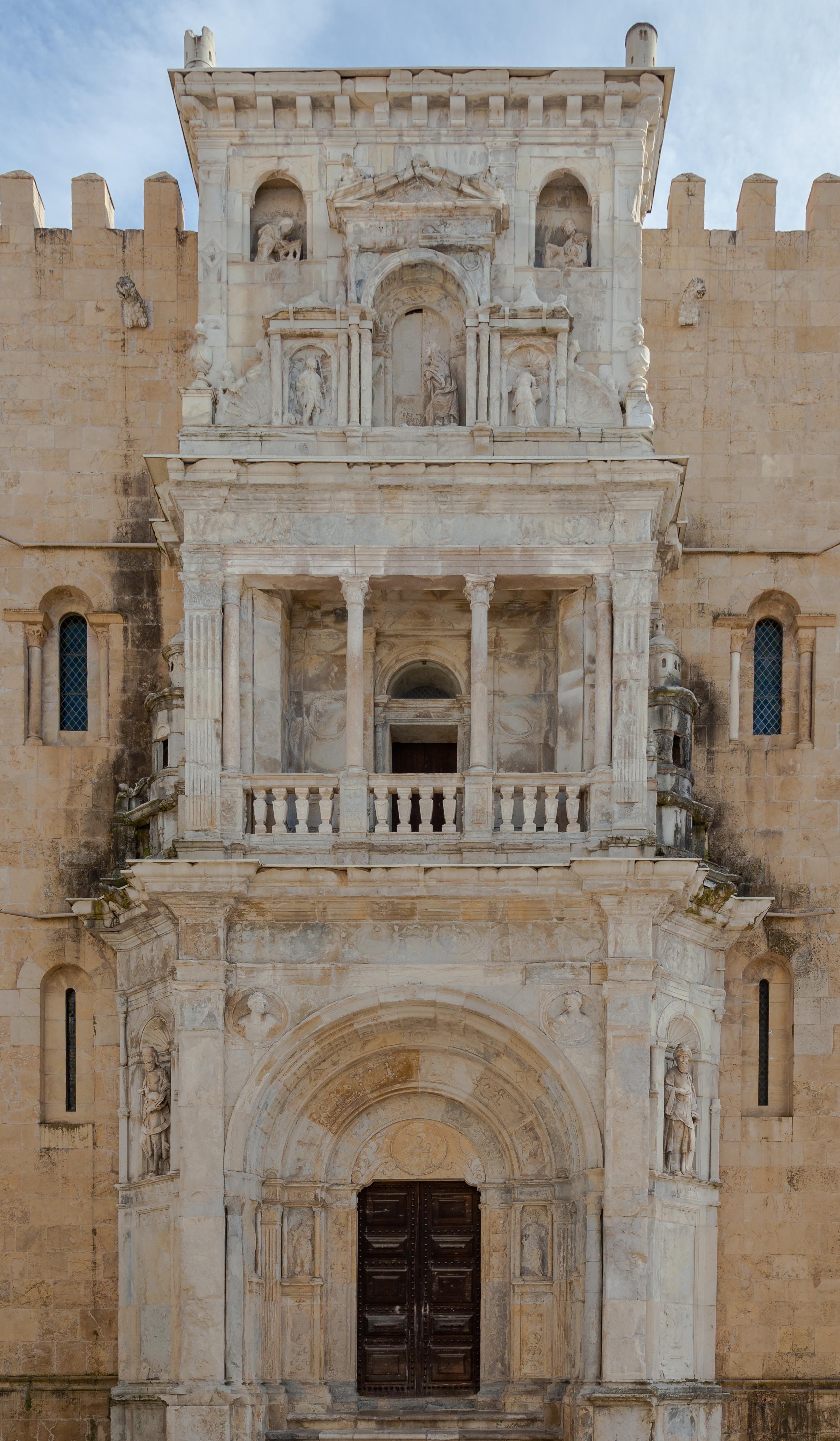 File:Catedral Vieja, Coímbra, Portugal, 2012-05-10, DD 02.JPG - Wikimedia Com...