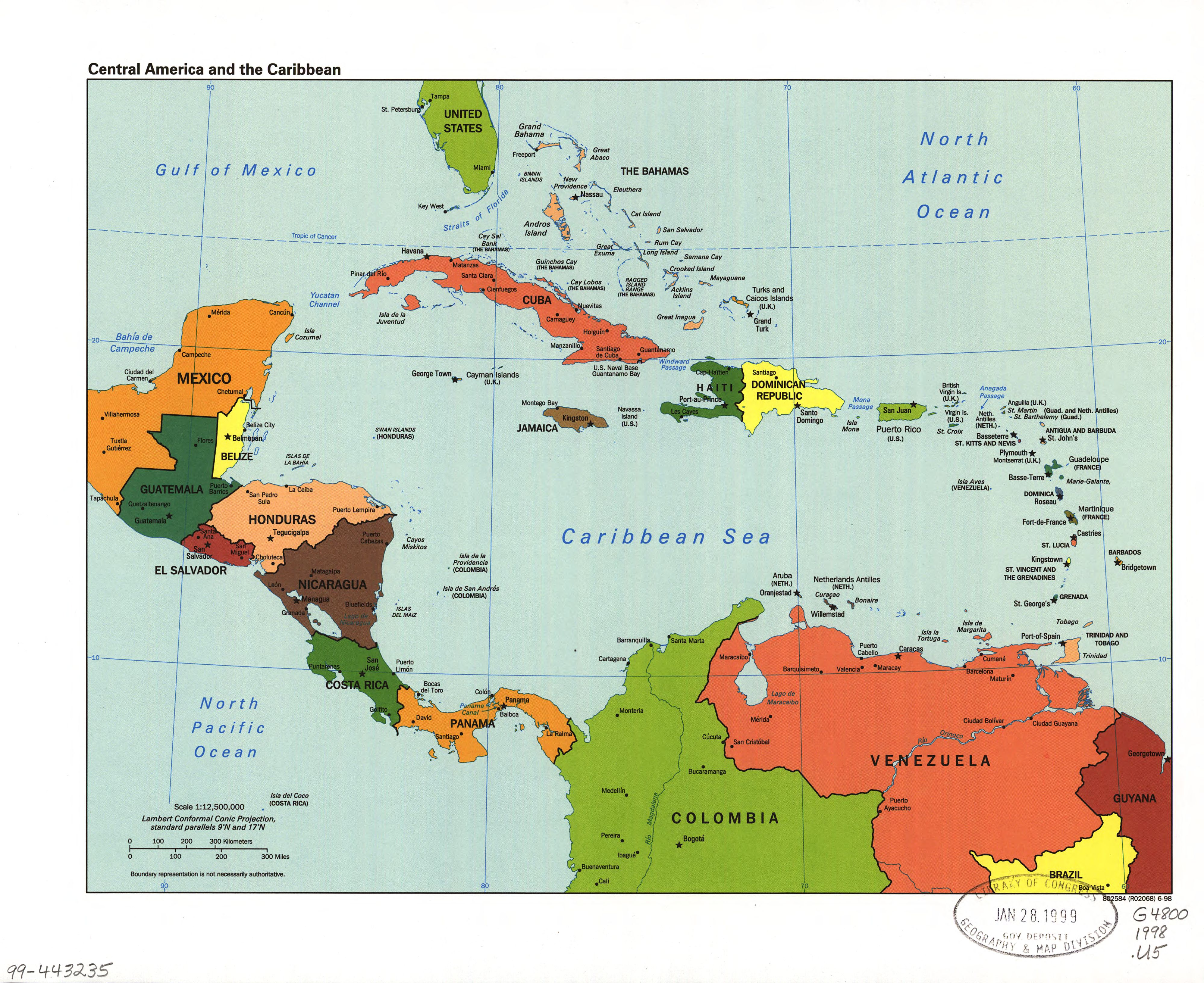 File:Central America and the Caribbean. LOC 99443235.jpg - Wikimedia ...