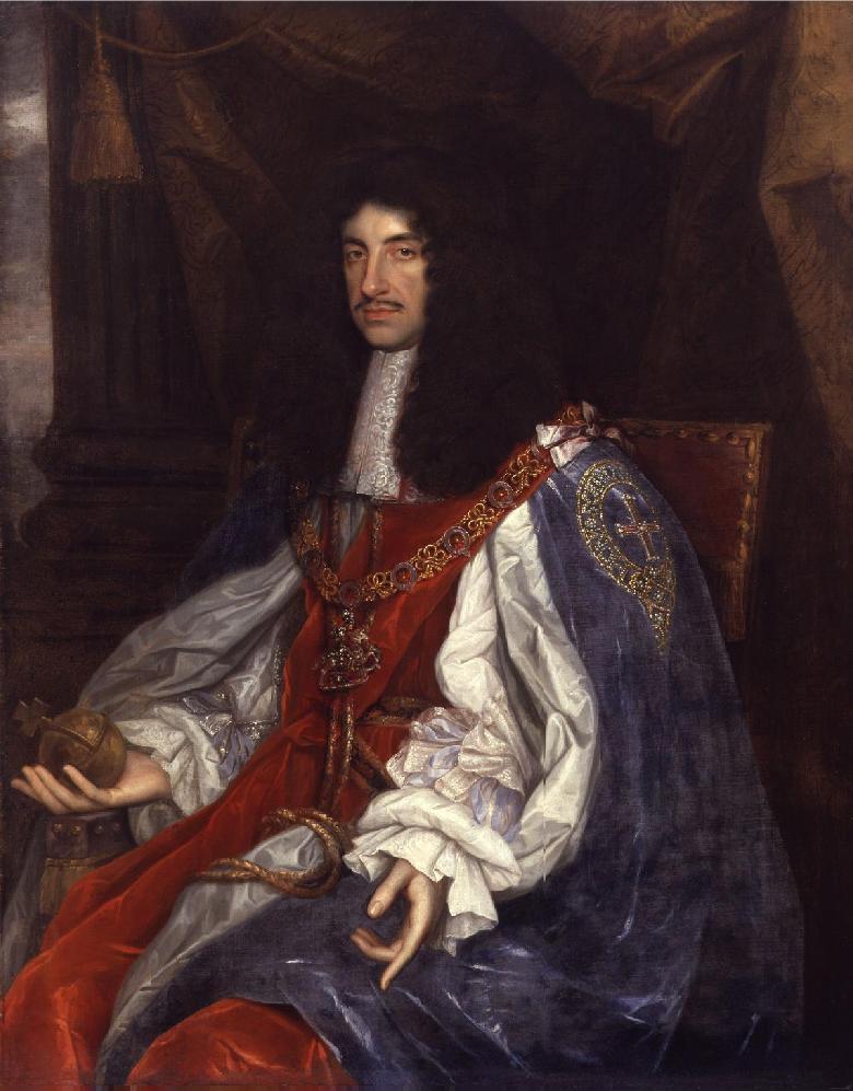 Charles II par John Michael Wright.