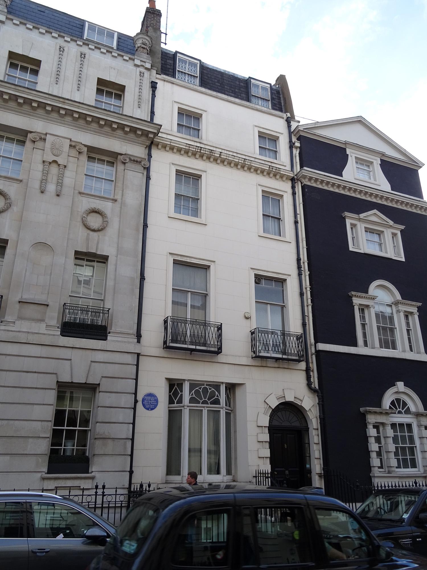 File:Charles X - 72 South Audley Street Mayfair London W1K 1JB.jpg -  Wikimedia Commons