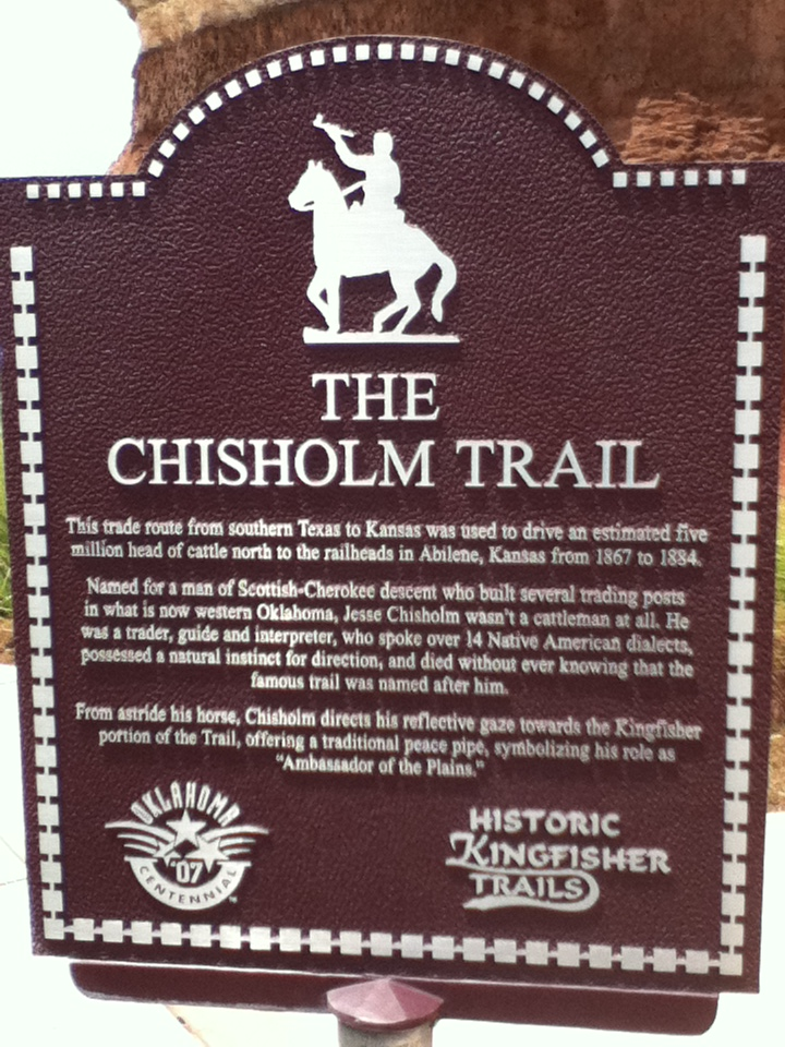 the history of the chisholm trail Chisholm trail: chisholm trail, , 19th-century cattle drovers' trail in the western united states although its exact route is uncertain, it originated south of san antonio, texas, ran north across oklahoma, and ended at abilene, kan little is known of its early history it was probably named.