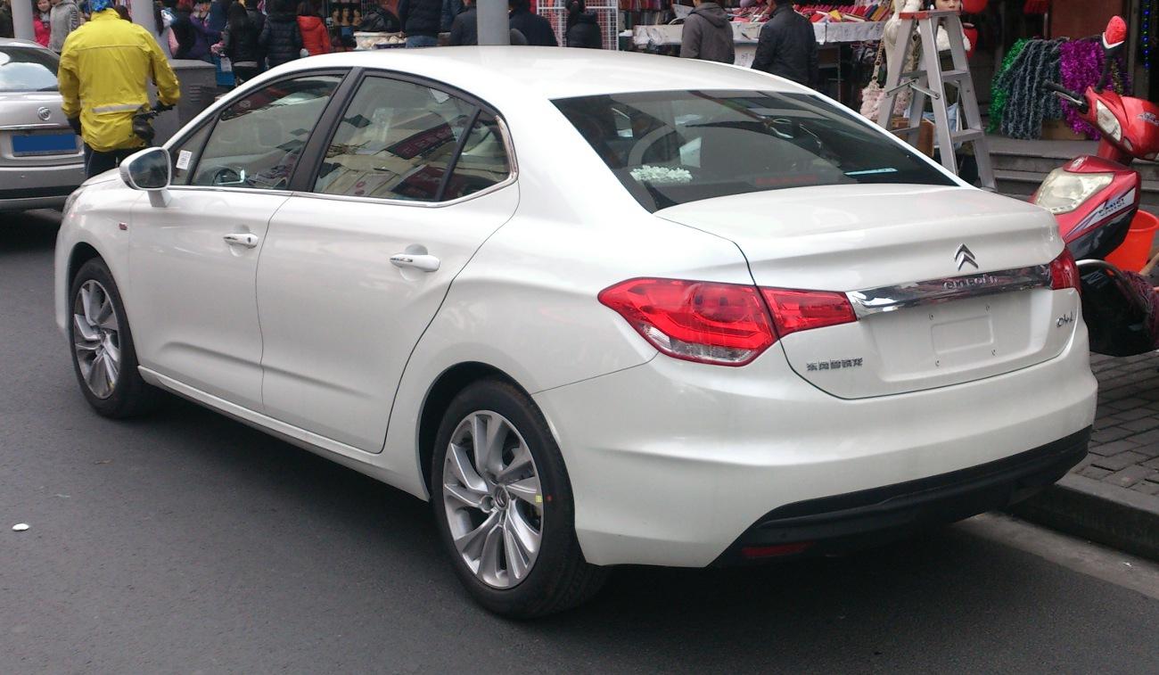 citroen c4 (sedan, 2013) at