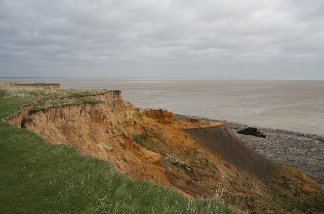 Cliff erosion at the Naze - geograph.org.uk - 724944