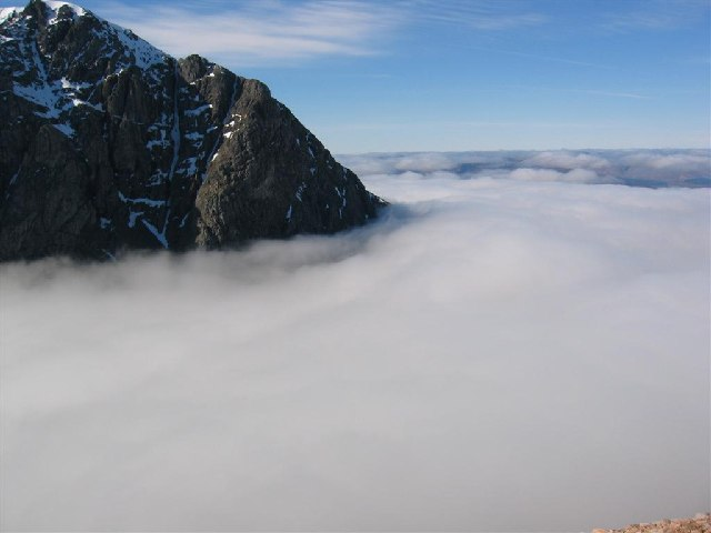 File:Cloud Inversion - North Face of Ben Nevis - geograph.org.uk - 64369.jpg