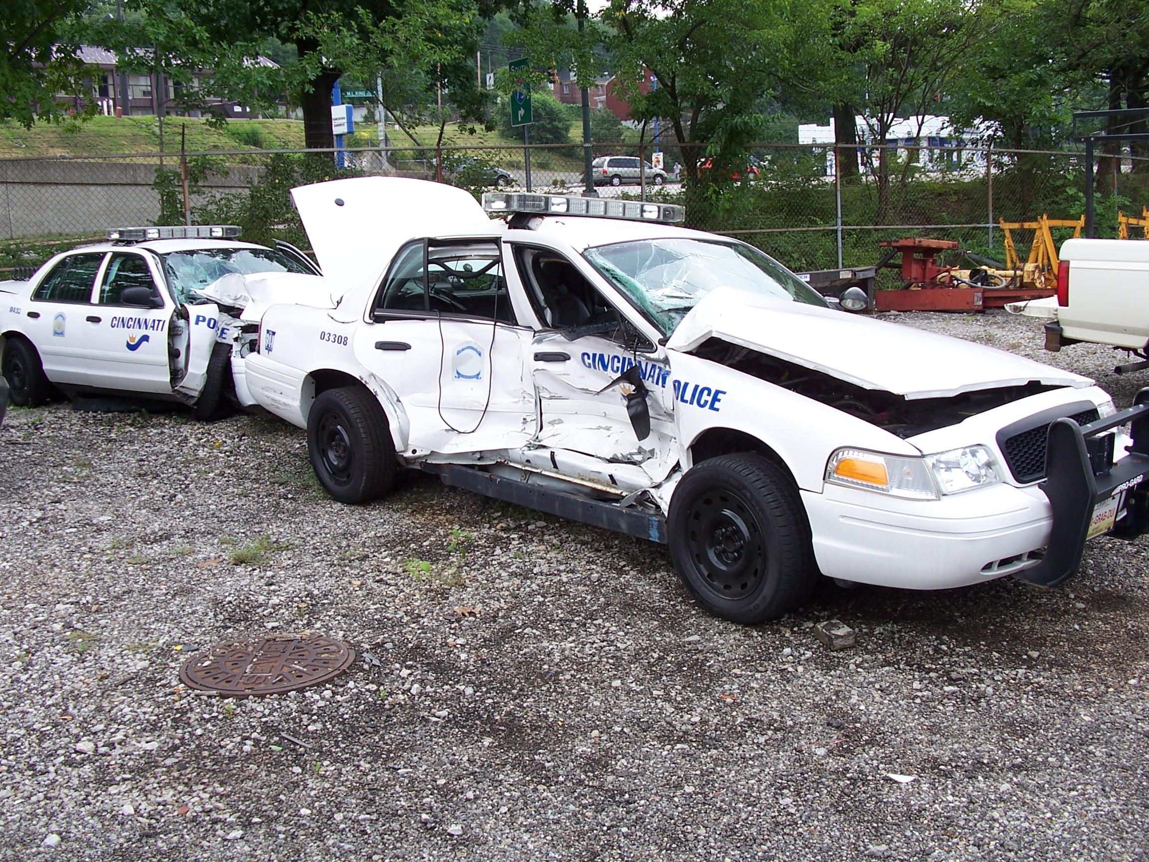 Cincinnati Car Crash Off Bridge