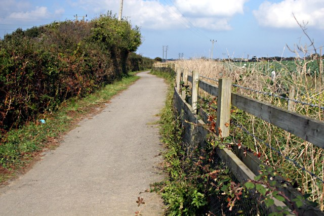 Cycle Path - geograph.org.uk - 579528