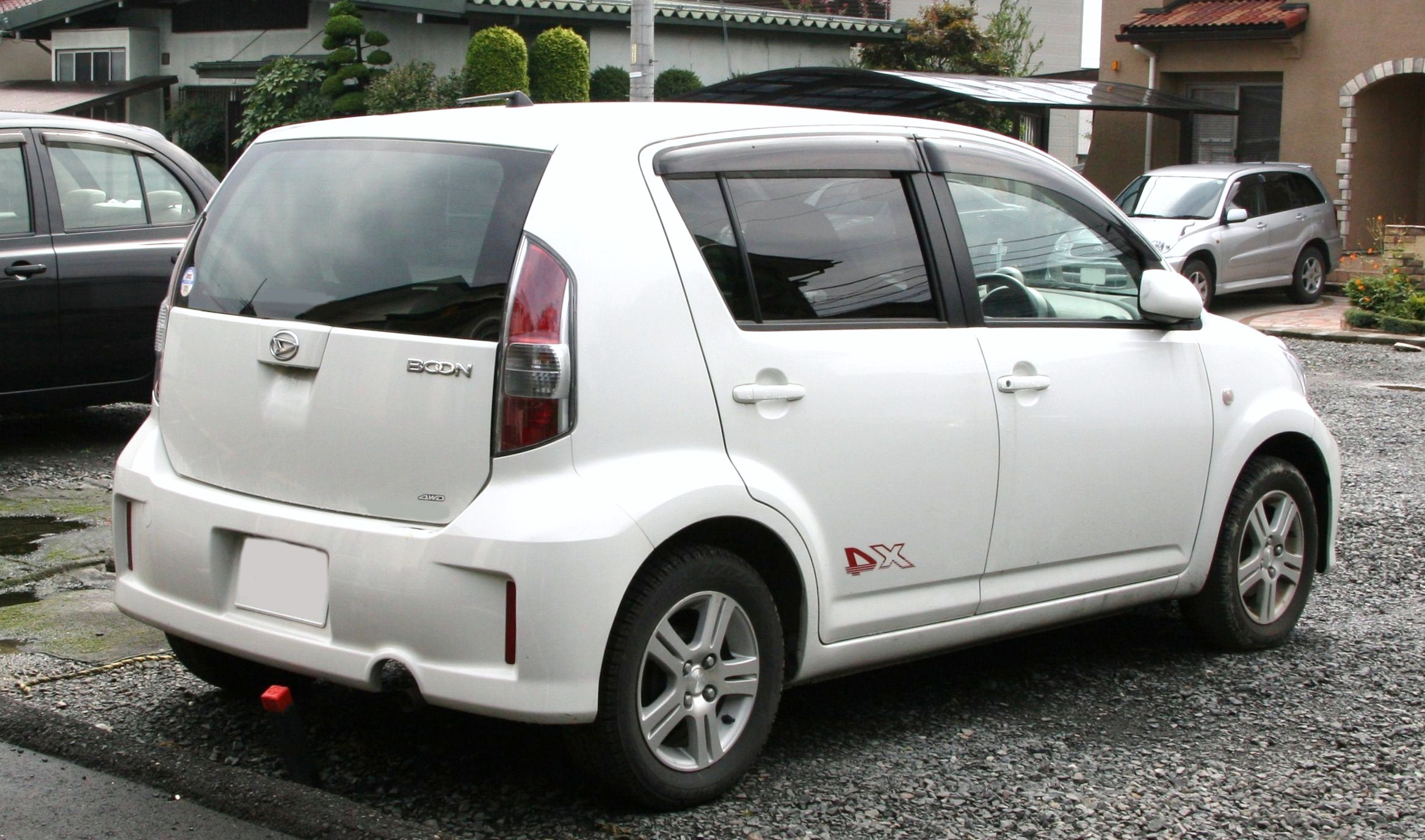 File Daihatsu Boon X4 Rear Jpg Wikimedia Commons