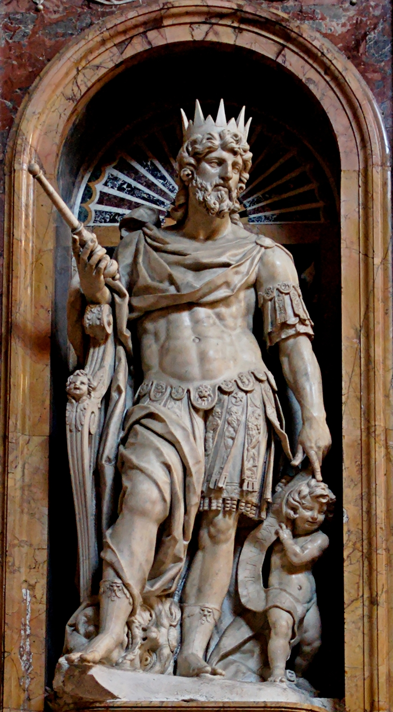 Depiction of David